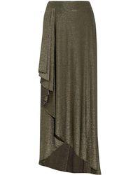 Haute Hippie - Long Skirt - Lyst