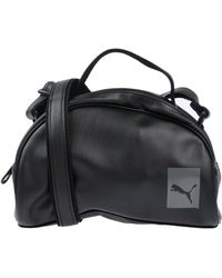 14629ee08c Lyst - PUMA Handbags in Black