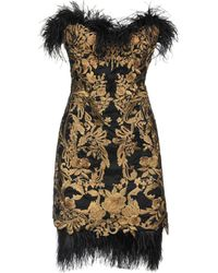Marchesa Kurzes Kleid