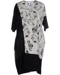 CoSTUME NATIONAL - Short Dress - Lyst