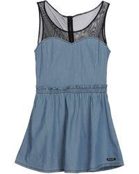 55dsl - Short Dress - Lyst
