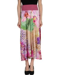Bellissima by Raffaella Rai - 3/4 Length Skirt - Lyst