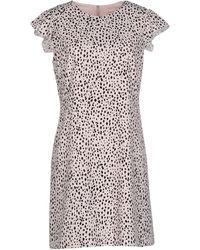 Rebecca Taylor - Short Dress - Lyst