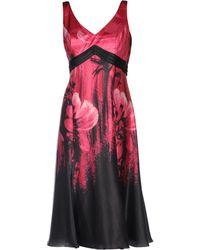 Carlo Pignatelli 3/4 Length Dress - Multicolor