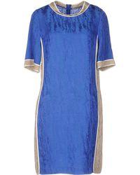 PURIFICACION GARCIA - Short Dress - Lyst