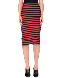 Osklen - Knee Length Skirt - Lyst