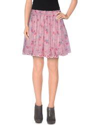 Amy Gee - Mini Skirt - Lyst