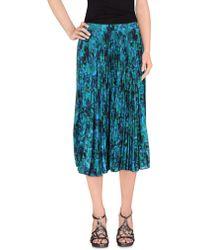 David Szeto - 3/4 Length Skirt - Lyst