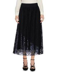 Shiki - 3/4 Length Skirt - Lyst