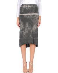 Superfine - Knee Length Skirt - Lyst