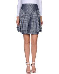 Pollini By Rifat Ozbek - Knee Length Skirt - Lyst