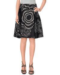 Chiara D'Este - Knee Length Skirt - Lyst