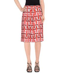 Paul by Paul Smith - Knee Length Skirt - Lyst