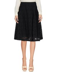 Silk And Soie - Knee Length Skirt - Lyst