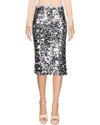 Fred Mello - 3/4 Length Skirt - Lyst