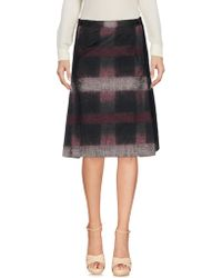 Daks - Knee Length Skirt - Lyst