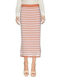 PURIFICACION GARCIA - 3/4 Length Skirt - Lyst