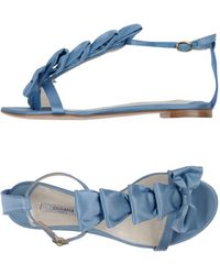 Olgana Paris - Toe Post Sandal - Lyst