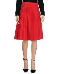 Issey Miyake Cauliflower - Knee Length Skirt - Lyst