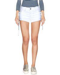Just Cavalli - Denim Shorts - Lyst