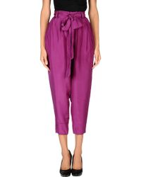Lipsy - Casual Pants - Lyst