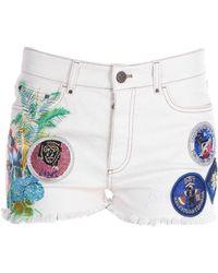 Mr & Mrs Italy - Denim Shorts - Lyst