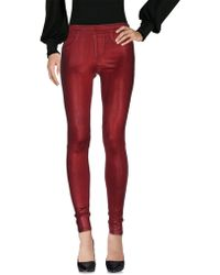 Blanc and Noir - Casual Trousers - Lyst