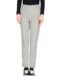Karl by Karl Lagerfeld - Casual Trousers - Lyst