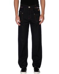 Moschino Jeans - Denim Pants - Lyst