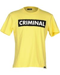 Criminal - T-shirt - Lyst