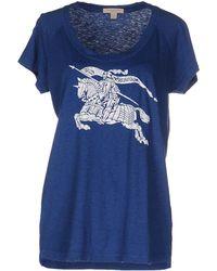 Burberry Brit - T-shirt - Lyst