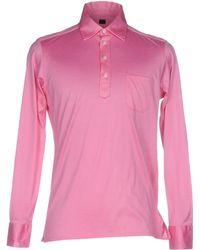 Mp Massimo Piombo - Polo Shirt - Lyst