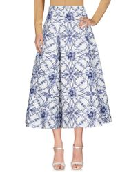 Notte by Marchesa - Long Skirt - Lyst