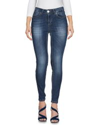 Motel - Denim Trousers - Lyst