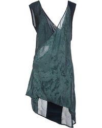 Alessandra Marchi - Short Dress - Lyst