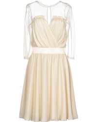Elisabetta Franchi - Short Dresses - Lyst