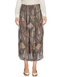 Alviero Martini 1A Classe | 3/4 Length Skirt | Lyst