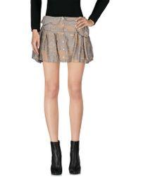 Anne Valerie Hash - Mini Skirts - Lyst