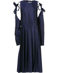 Sara Lanzi - 3/4 Length Dress - Lyst