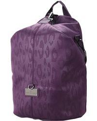 Lyst - Adidas By Stella Mccartney Purple Studio Bag in Purple e9a50825dbcce