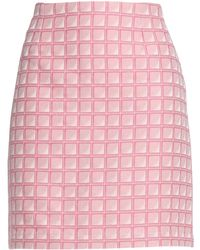 Alexander Lewis - Knee Length Skirt - Lyst