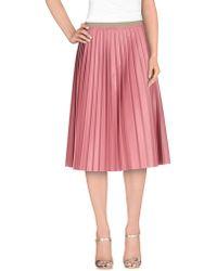 So Nice - 3/4 Length Skirt - Lyst