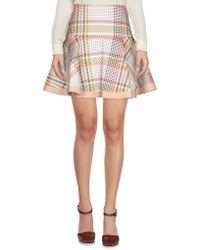 Patrizia Pepe - Mini Skirt - Lyst