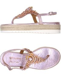 Divine Follie - Toe Post Sandal - Lyst