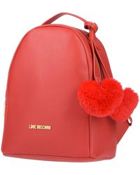 Love Moschino Backpacks & Fanny Packs - Red
