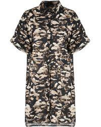 Neil Barrett - Short Dress - Lyst