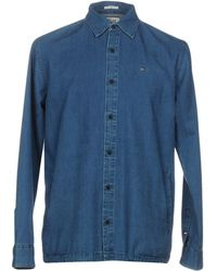 855147c6 Hilfiger Denim - Denim Shirt - Lyst