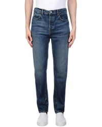 Alexander Wang | Denim Trousers | Lyst