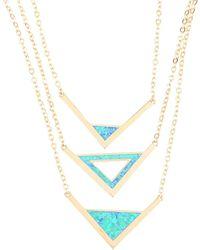 Noir Jewelry - Necklace - Lyst