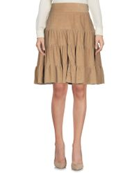 Nolita - Knee Length Skirts - Lyst